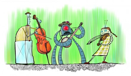 Robot String Band